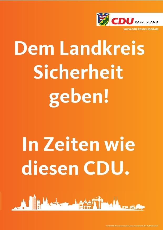 Landkreis-Plakat